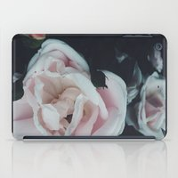 vintage flowers iPad Cases featuring Vintage Flowers by C O R N E L L