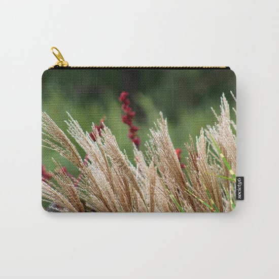 Peaceful Wild Grass Carry-All Pouch