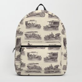 Antique German Automobiles Backpack