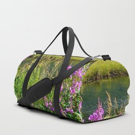 July at Tern Lake Duffle Bag