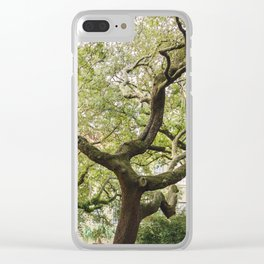 In The Tree Tops Clear iPhone Case
