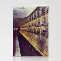 subway Stationery Cards featuring Subway by wendygray