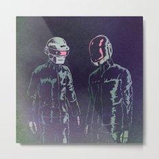 The Robots Metal Print