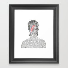 David Encyclopedia Framed Art Print