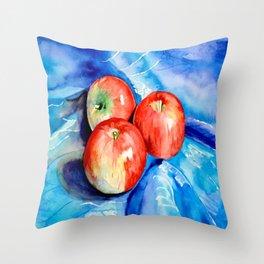 Snow White Princess' Apples Throw Pillow