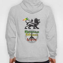 Reggae, Music & Love Hoody