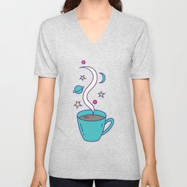 The Universe in my Cup Unisex V-Neck