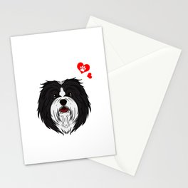 Love Havanese Dog Owner Paw Heart Gift Stationery Cards