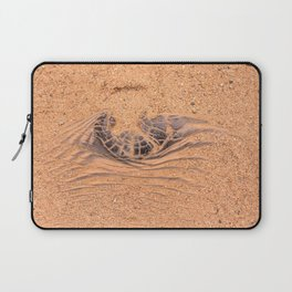 Wood in the Sand Laptop Sleeve