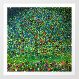"Gustav Klimt ""Apple tree"" I Kunstdrucke"