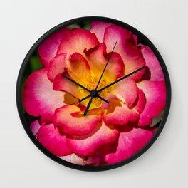 Sorbet Rose Wall Clock