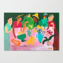 The Last Brunch Canvas Print