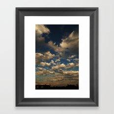 The Sky is Endless Framed Art Print