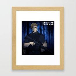 The Refuge - Lieutenant Malcolm Kash Framed Art Print