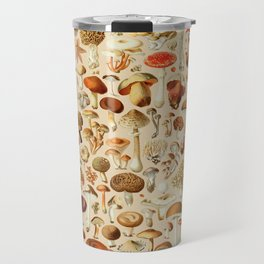 Vintage Mushroom Designs Collection Travel Mug