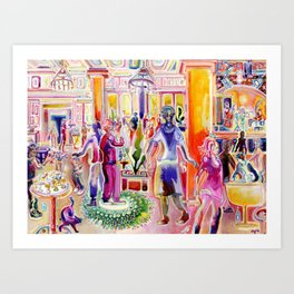 Color and Shape in Concert Art Print