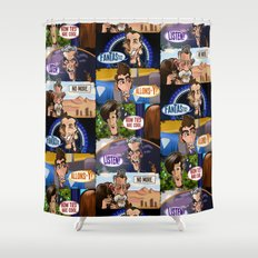 New Who Shower Curtain