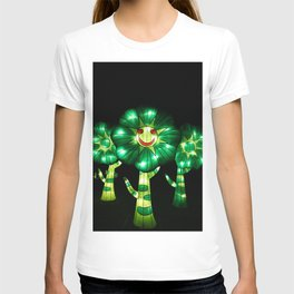 smile flowers T-shirt