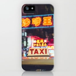 Hong Kong Taxi iPhone Case