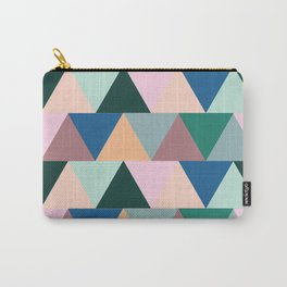 Triangular Geometric Pattern Carry-All Pouch