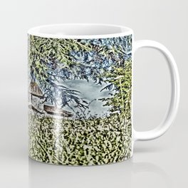 A Middle Ages Church Coffee Mug
