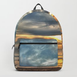 Sunset on the Llyn Peninsula Backpack