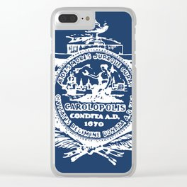 flag of Charleston Clear iPhone Case