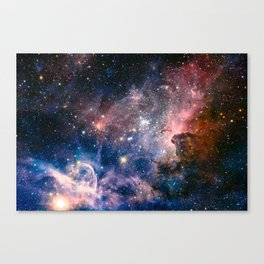 Carina Nebula's Hidden Secrets Canvas Print