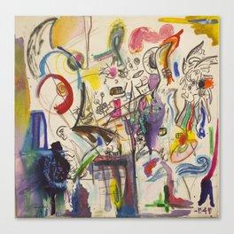 Mythos Flabbergasted Canvas Print