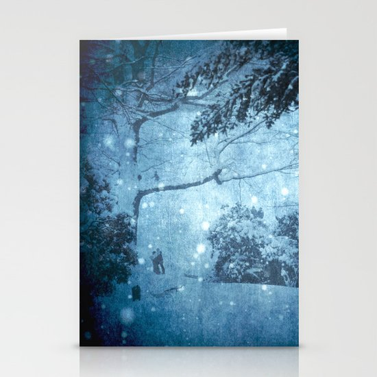 Winter View Stationery Cards