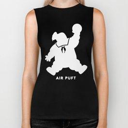 Air Puft: Stay Puft Marshmallow Man - Inverted Biker Tank