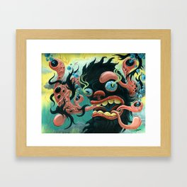 Guardian of the Bubble Pipes of Creation Framed Art Print