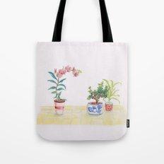A flowery feeling Tote Bag