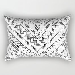 Geo Mudcloth Rectangular Pillow