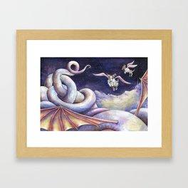 The Dragon's Downfall Framed Art Print