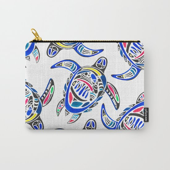 Declan The Sea Turtle Carry-All Pouch