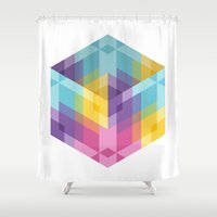 fig Shower Curtains featuring Fig. 024 by Maps of Imaginary Places