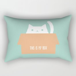 This is My Box Rectangular Pillow