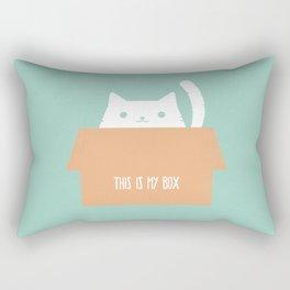 This is My Box Rectangular Pillow