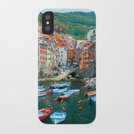 Italy. Cinque Terre marina iPhone Case