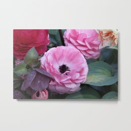 The Softest Pink Metal Print