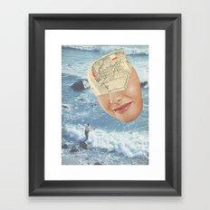 It's a keeper Framed Art Print