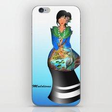 maldivian iPhone & iPod Skin