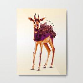 Dama Gazelle Metal Print
