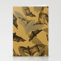 bats Stationery Cards featuring Bats by Deborah Panesar Illustration