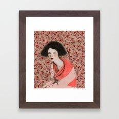 Anastasia Framed Art Print