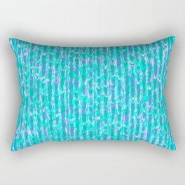 Fleeing Trees Pattern Rectangular Pillow