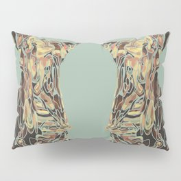 CARCASS OF BEEF: Rembrandt Refabricated Pillow Sham