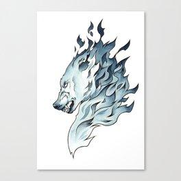 Whisp Hound 2 Canvas Print