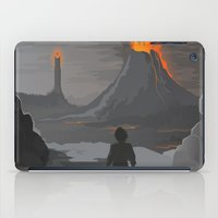 the lord of the rings iPad Cases featuring Lord Of The Rings by ketizoloto